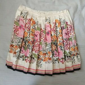Pleated flower skirt